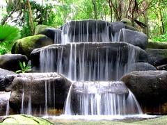 water fall @ sentosa island (nature walk)