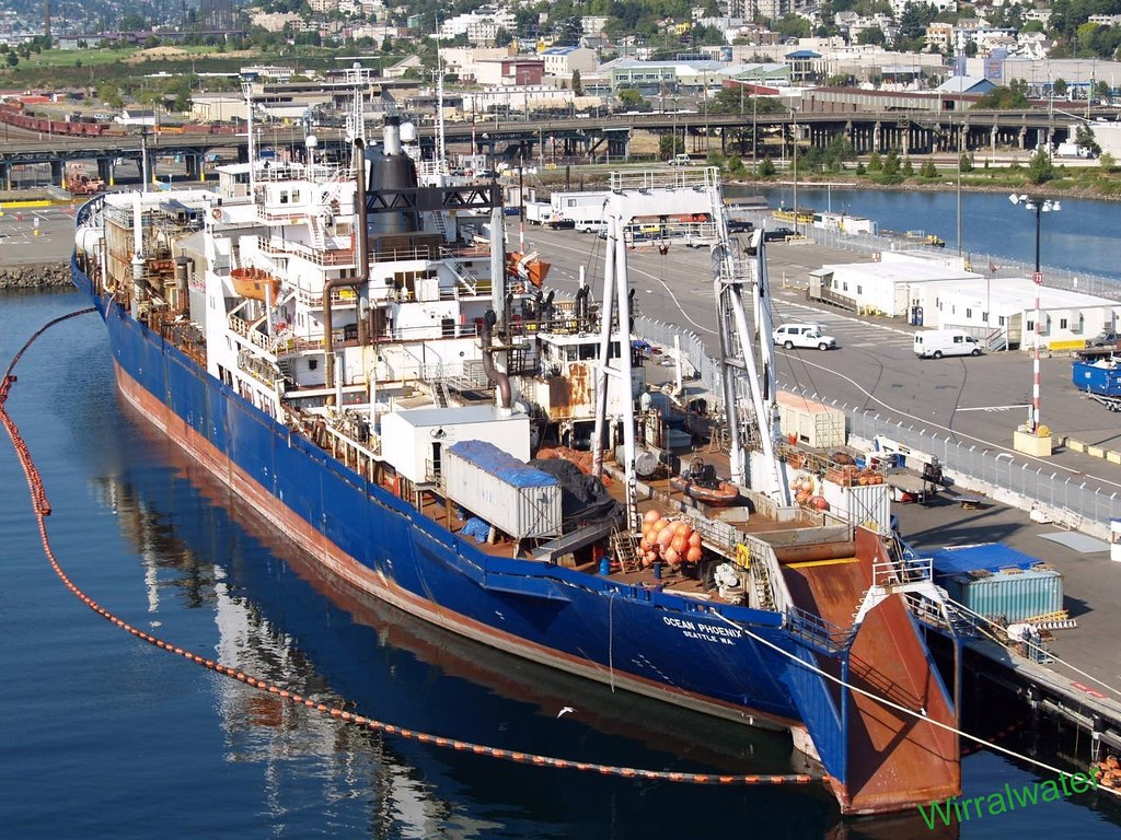 Ocean phoenix at seattle imo number 6413924 name of for Seattle fishing jobs