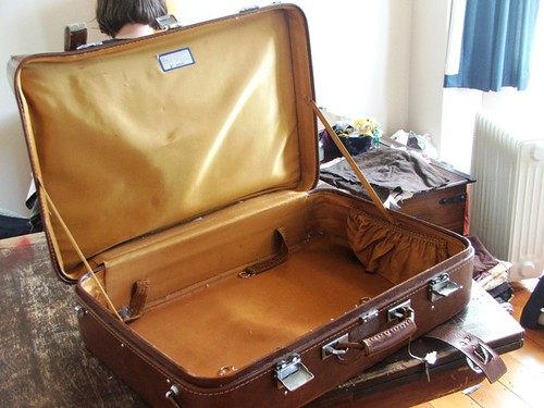 This is an open suitcase | by emmamccleary