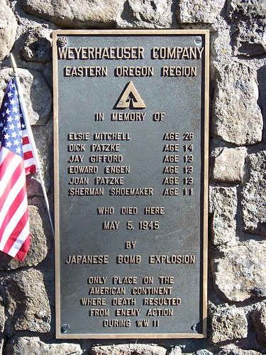 Mitchell Monument Southern Oregon Names of Victims | by Southern Oregon Visitors Association