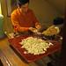 Deft dumpling making