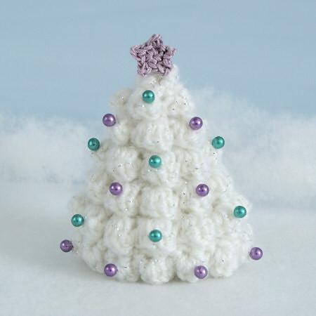 Crocheted Christmas Tree White Flickr Photo Sharing