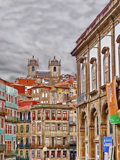 Porto Old Sé from Ribeira | by Daniel Schwabe