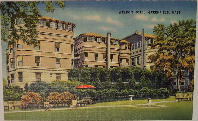 Vintage Postcard  Weldon Hotel, Greenfield, Mass  Flickr. Hotel Ritter Durbach. Porto Mare Hotel. Hotel Plaza Mayor Cali. Barcelo Saray Hotel. The Castle Hotel. R2 Rio Calma Hotel. The Royal Hotel. Hotel Sepia