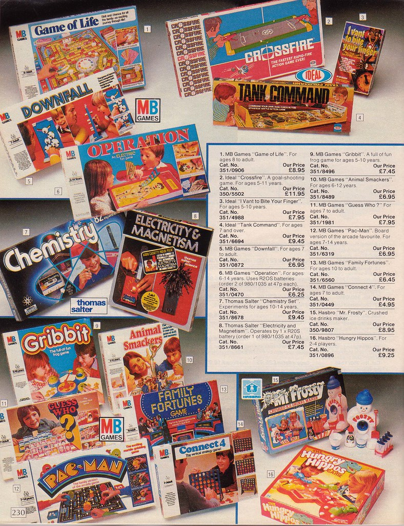 Vintage British Argos 1985 Catalogue Take A Blast Into The Flickr