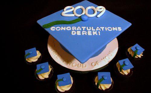 how to make a 3d graduation cap cake