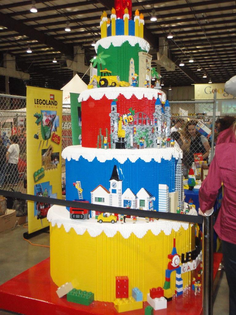 Huge Lego Cake Sid Flickr
