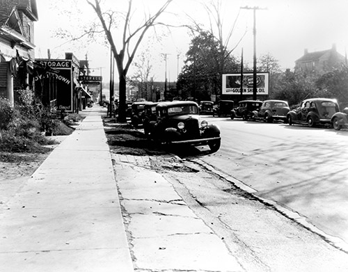 ... N.53.15.4437 Raleigh Street Scenes Ca 1940 | By State Archives Of North