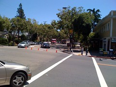 Bike accident on Alameda | by scriptingnews
