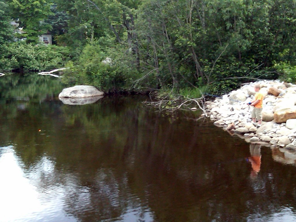 Fishing time on spear stream in peru maine the b 39 s for Fishing jobs in maine