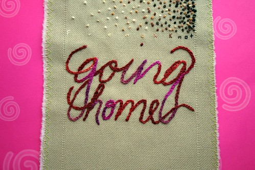 Band Sampler: Chain Stitch | by turning*turning