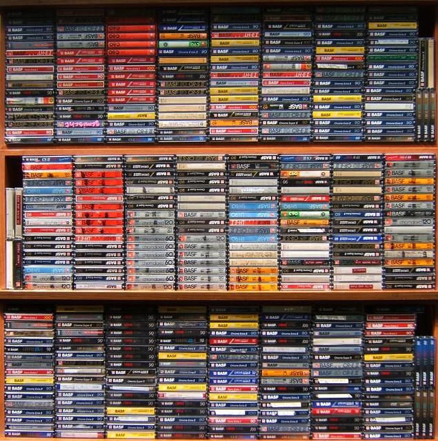 Basf Rack Three Drawers Worth Of Basf Cassettes