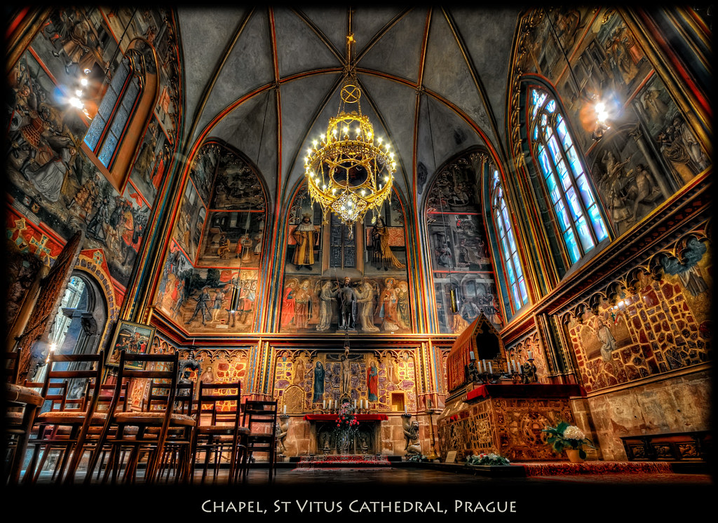 Prague A Chapel In St Vitus Cathedral I Have A