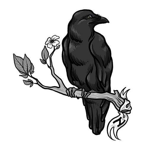 25 Crow Tattoo Designs Ideas: A Tattoo Design For Another Client. If You