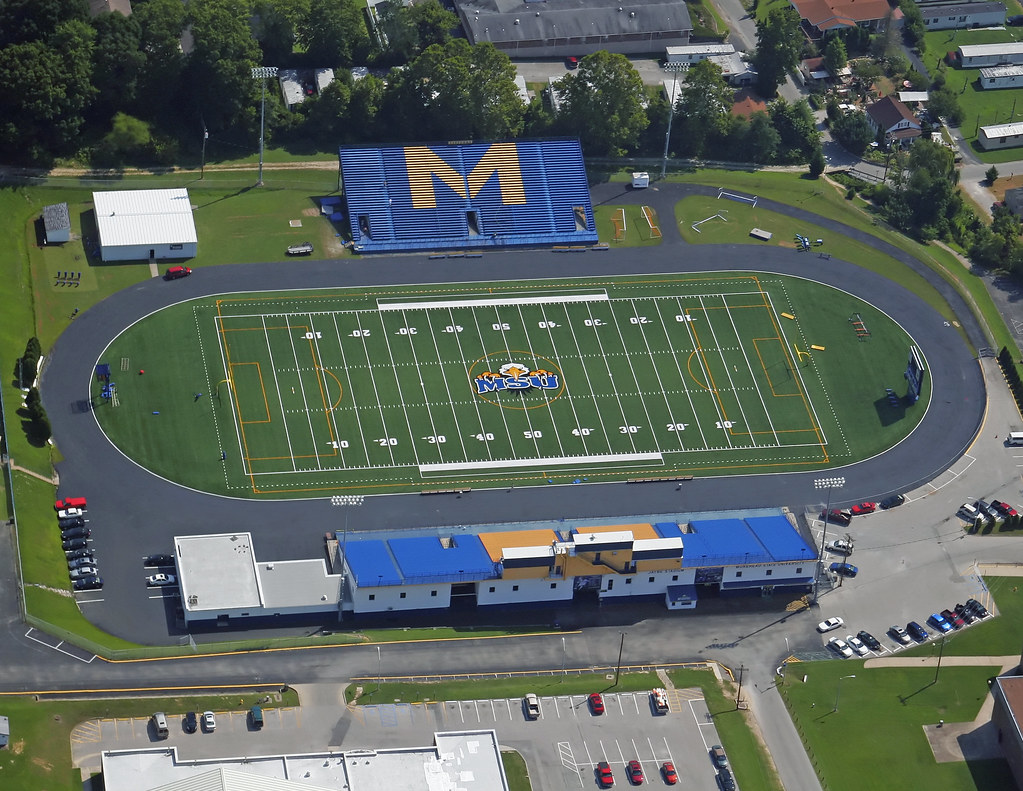 morehead state university jayne stadium turf gameday gr flickr