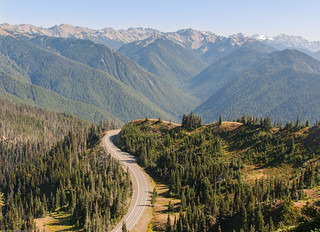 Road leading up to Hurricane Ridge in the Olympic National Park | by Alaskan Dude