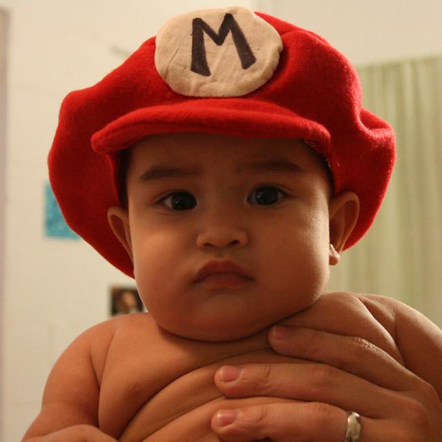 Mario Brothers Baby Costume Baby Mario Kids Costume