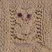 owl binky buddy detail