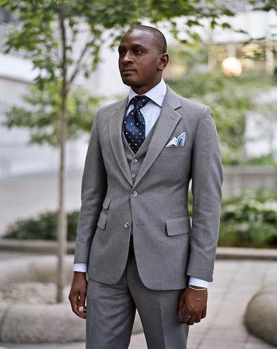 Grey Suit, Toronto Street Fashion @ Yorkville, Toronto | Flickr