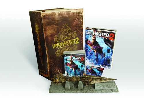 UNCHARTED 2 Fortune Hunter Edition w/ Guide | by PlayStation.Blog