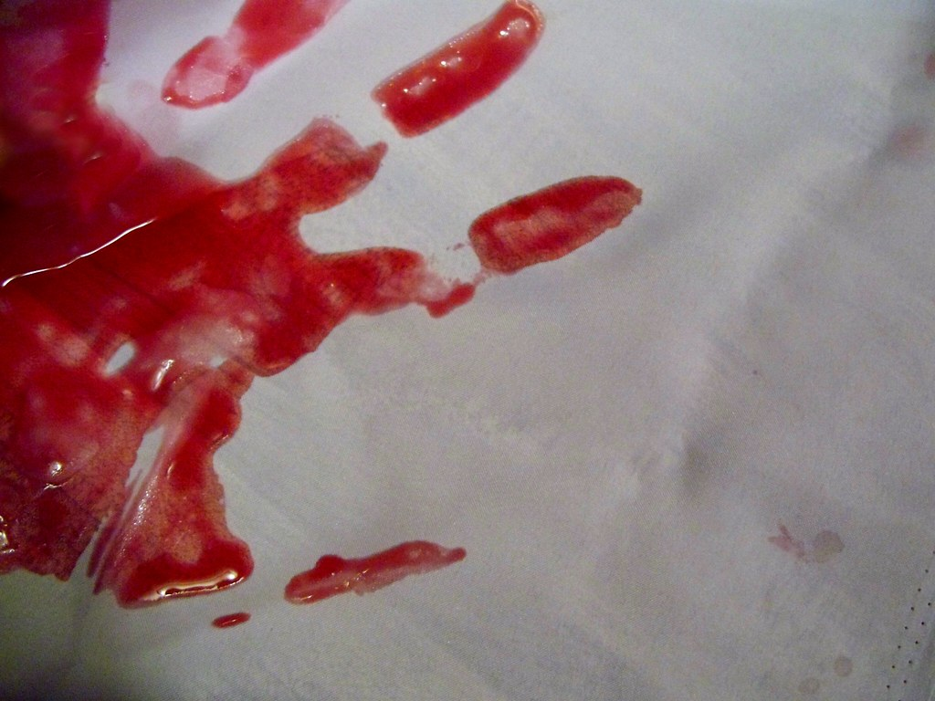 bloody hand print | Jo Naylor | Flickr