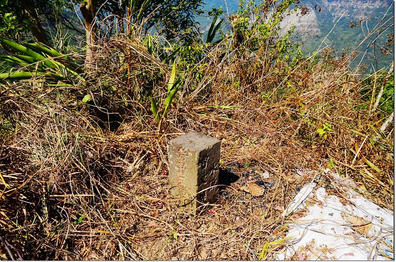 竹頭山曾文溪水源保護區界樁
