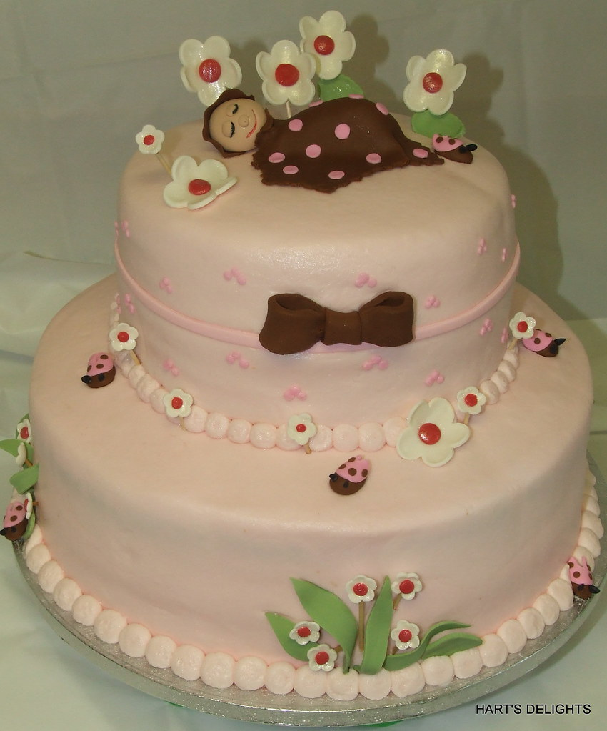 ... Lady Bug Baby Shower Cake | By Hartsdelights
