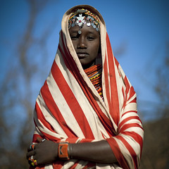 Miss Ana, veiled girl from Rendille tribe - Kenya | by Eric Lafforgue