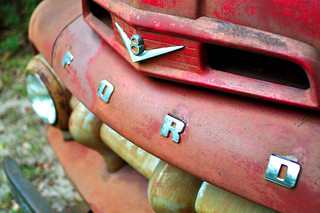 Day 13 - Rusty Red Ford V8 | by joel8x