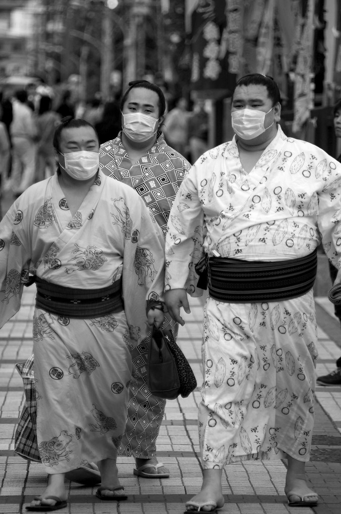 A Sign Of Our Times: Sumo Vs. Swine Flu Threat