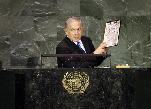 Prime Minister of Israel Addresses General Assembly | by United Nations Photo