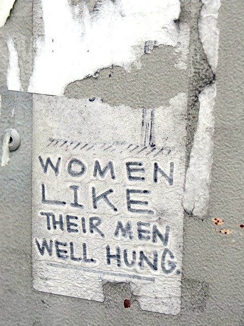 Women Like Their Men Well Hung. | Flickr - Photo Sharing!
