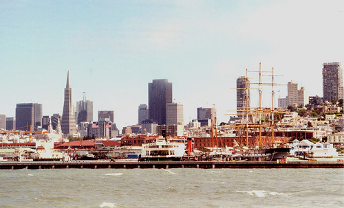 San Francisco - Hyde Street Pier from Sightseeing Boat | by roger4336