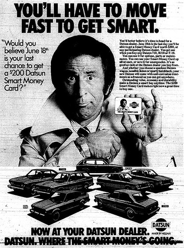 Vintage Ad #950: You'll Have to Move Fast to Get Smart | by jbcurio