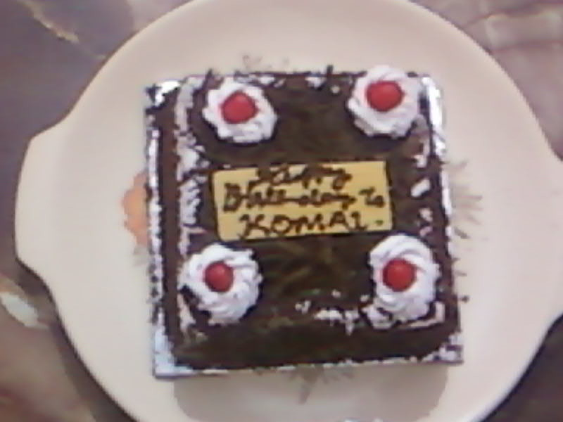 Its A Komal Birthday Cake Paresh Shah Flickr