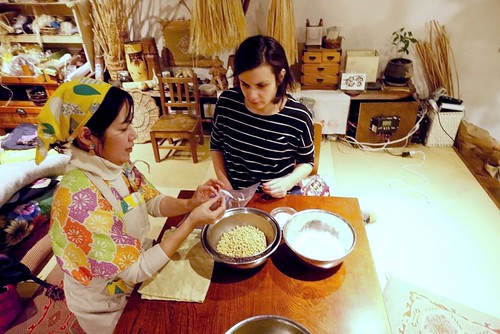 [日本文化ツアー] 味噌を作る  [Japan culture tour] Making miso