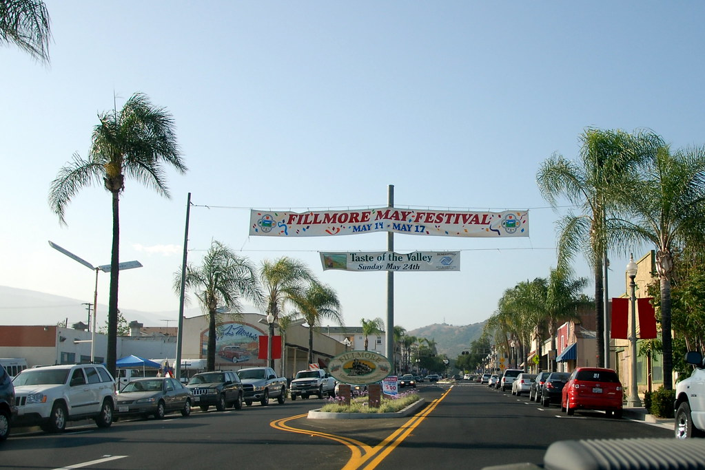 Downtown Fillmore California Navymailman Flickr