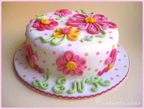 Torta Fiori Alana Alana S Flowers Cake It S A Dummie