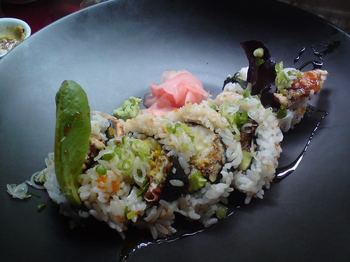 Rice & Fish: Spider roll (soft-shell crab) | by clotilde