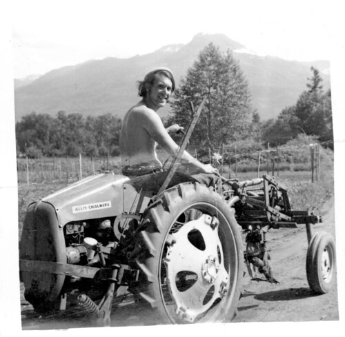 Gene Kahn on the Tractor | by Cascadian Farm