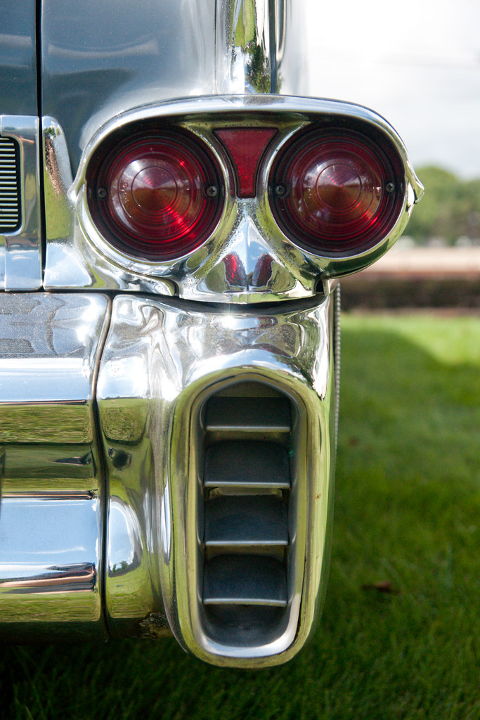 1958 Cadillac Fleetwood Sixty Special Tail Light Fron A