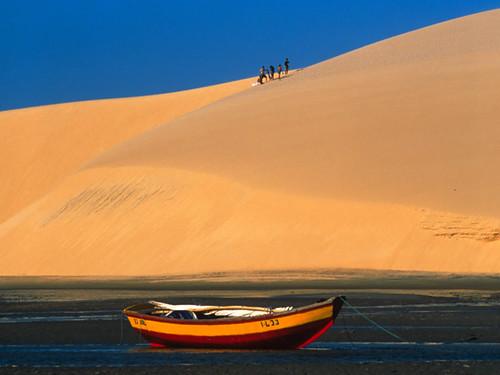 Canoa Quebrada Ceara Brazil Dune Canoa Quebrada Brazil