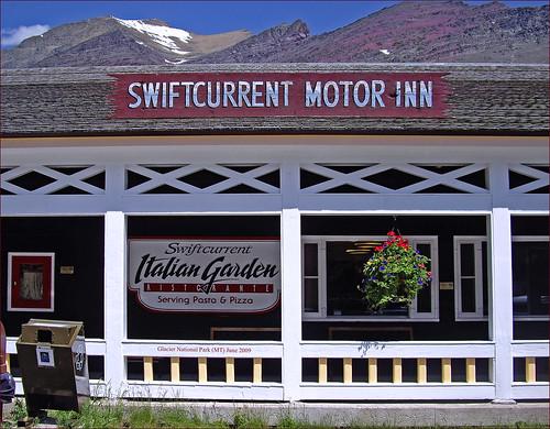 Swiftcurrent Motor Inn Glacier National Park Mt June