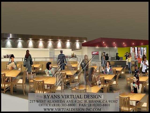 Restaurant architectural services ryans virtual design