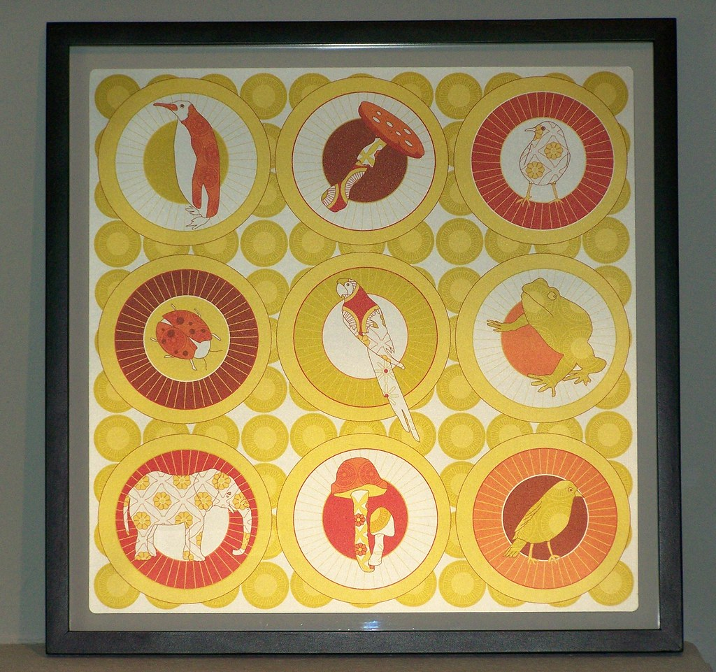 groovy IKEA wall art | Months ago one of IKEA\'s big patterns… | Flickr