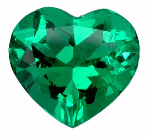 Colombian Emerald Heart Shape Diego Rodriguez Acosta