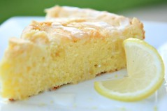Lemon Olive Oil Cake HEADER | by The Noshery
