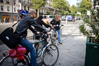 Paris Traffic | by Mikael Colville-Andersen