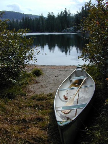 Canoe at Lake | by totalescape.com