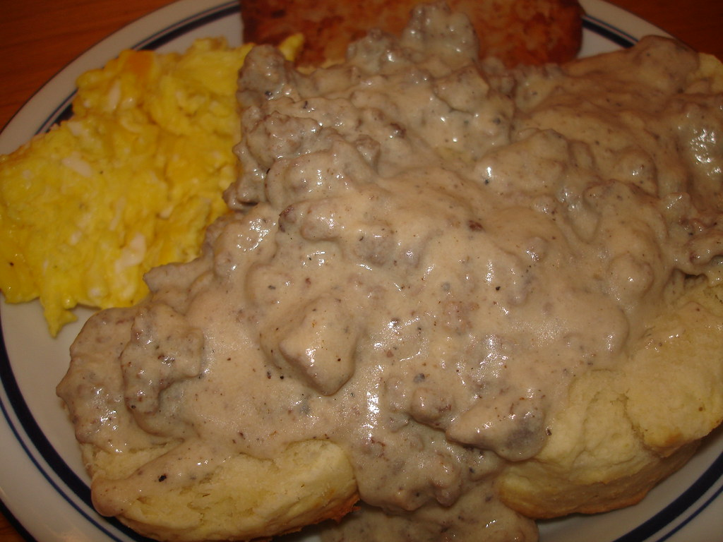 Biscuits And Sausage Gravy Betty S Kitchen Fare